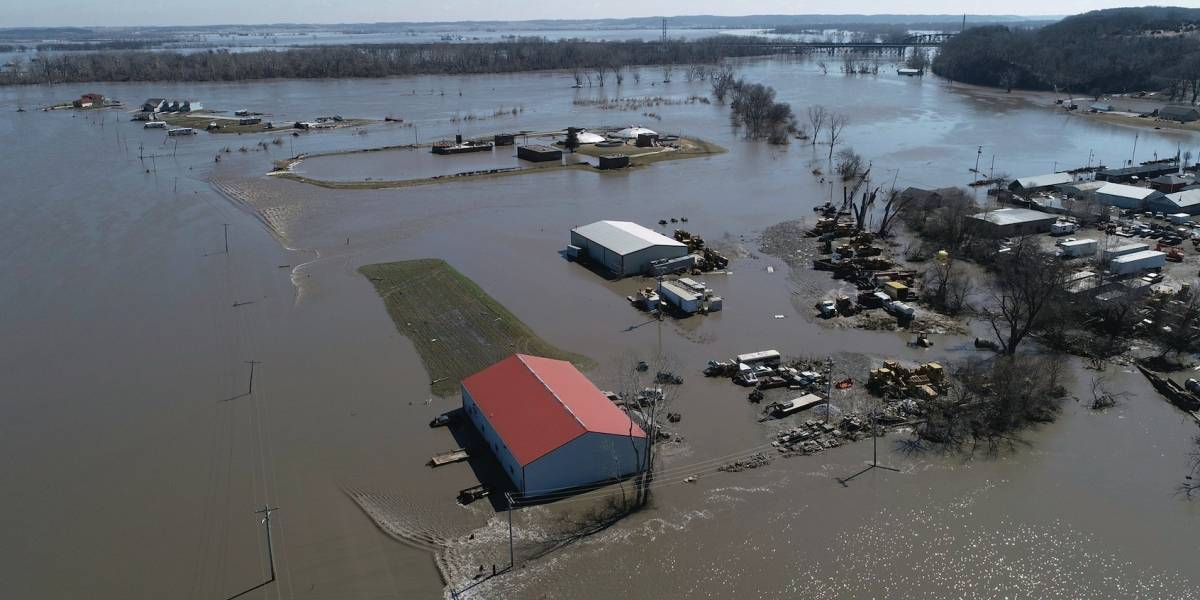 EE.UU. está bajo riesgo de inundaciones sin precedentes