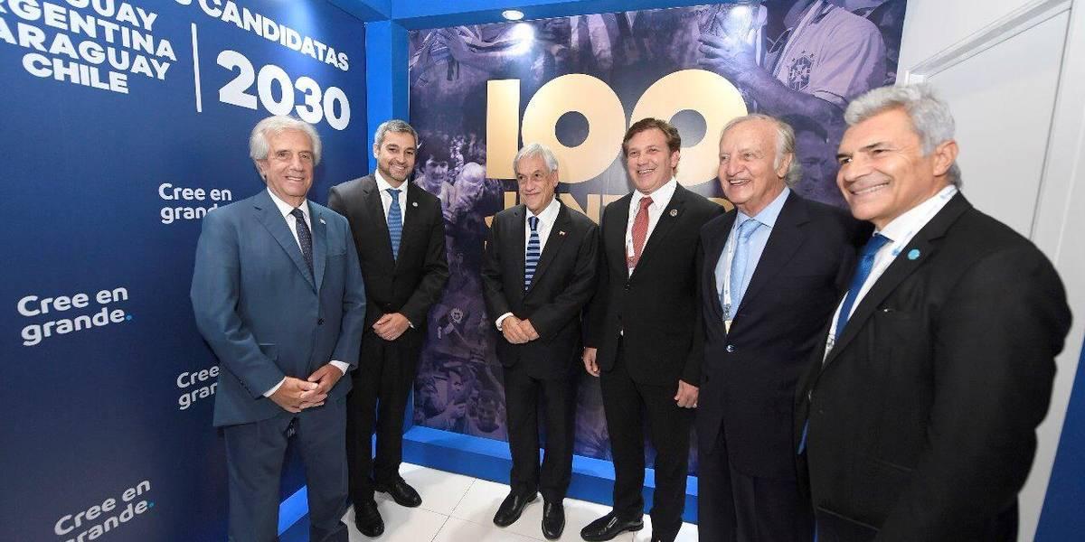 Mundial 2030: Argentina baja pretensión de Chile que tendría solo dos sedes y una semifinal