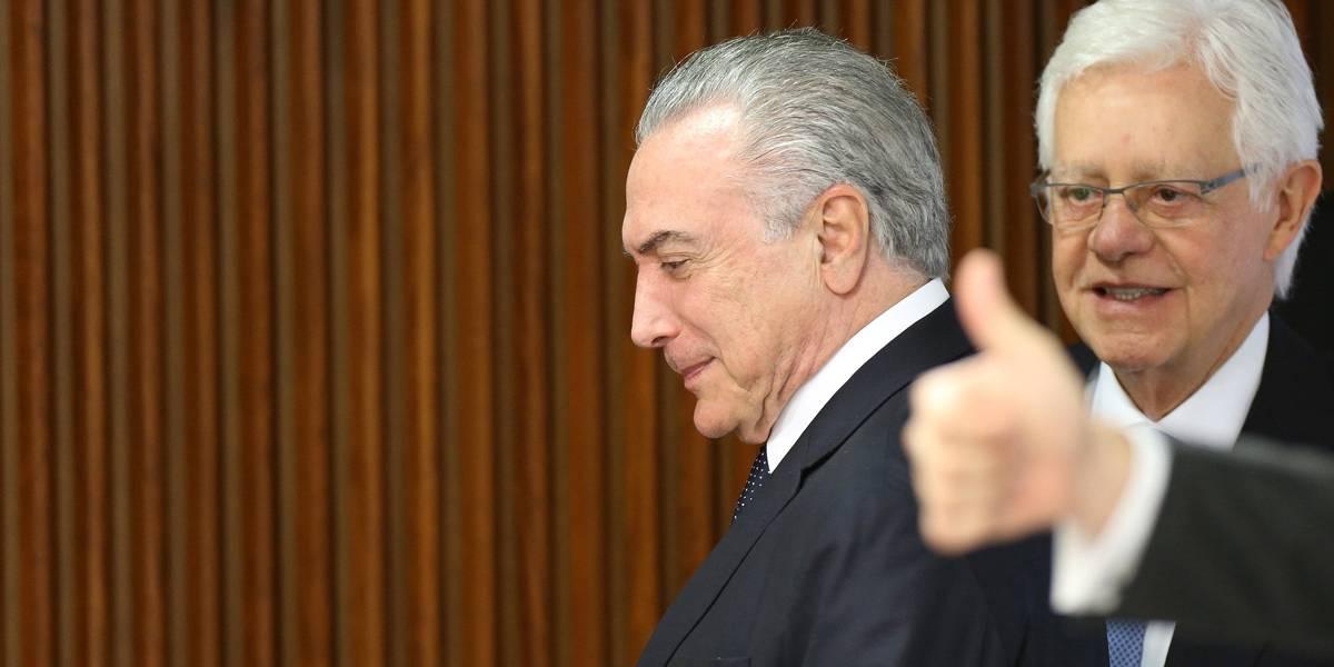Esquema envolvendo Temer e Moreira Franco movimentou R$ 1,8 bi, diz MPF