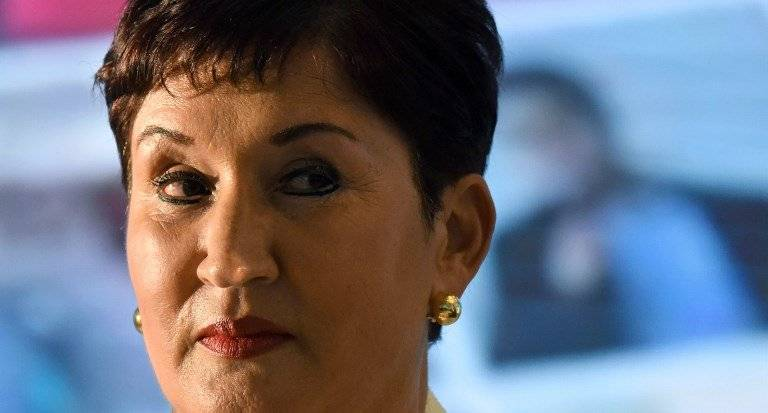 Exfiscal general Thelma Aldana. Foto: AFP