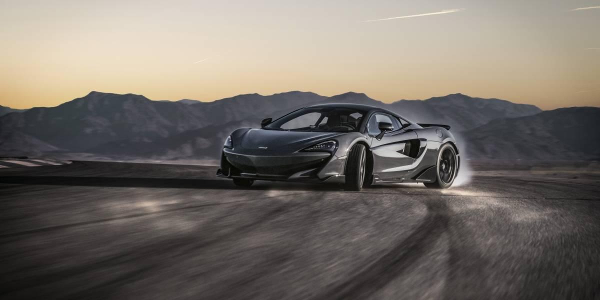 McLaren presenta en Chile su radical 600LT