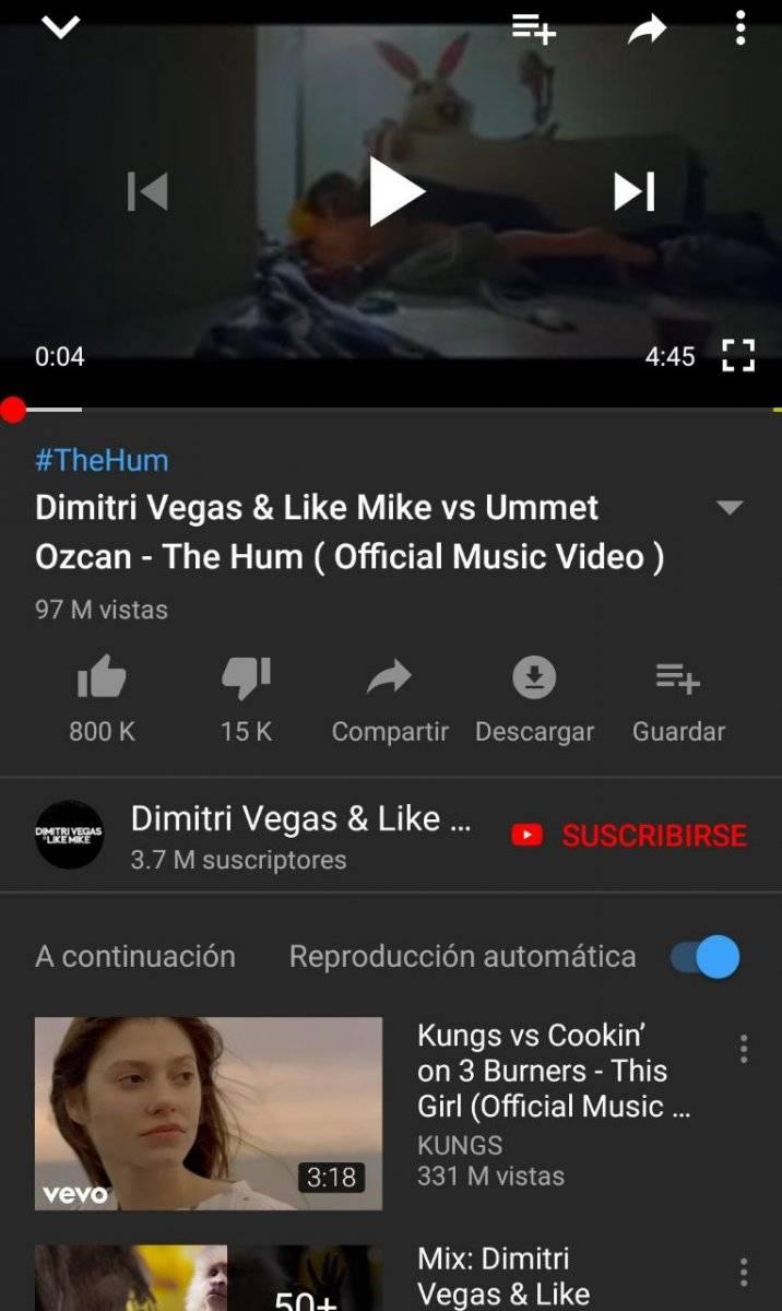 YouTube: Ya puedes descargar música desde la aplicación