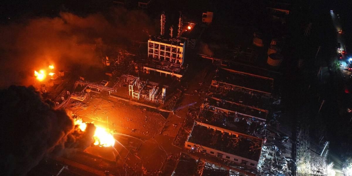 Explosión de planta química en China deja al menos 47 muertos y cientos de heridos