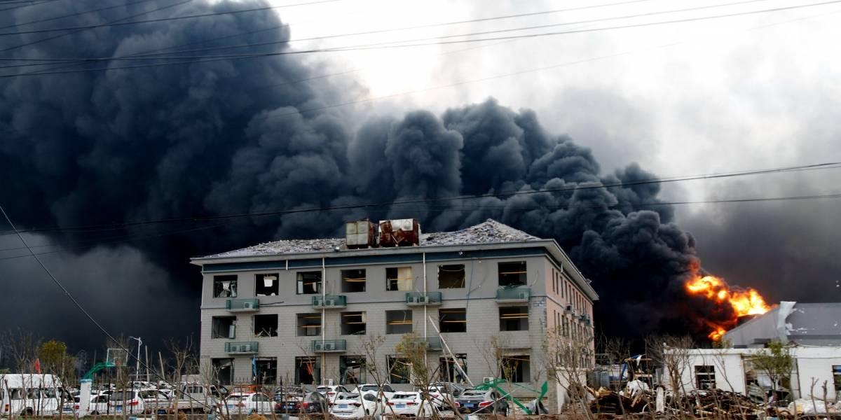 Ya son 47 los muertos por explosión en planta química en China