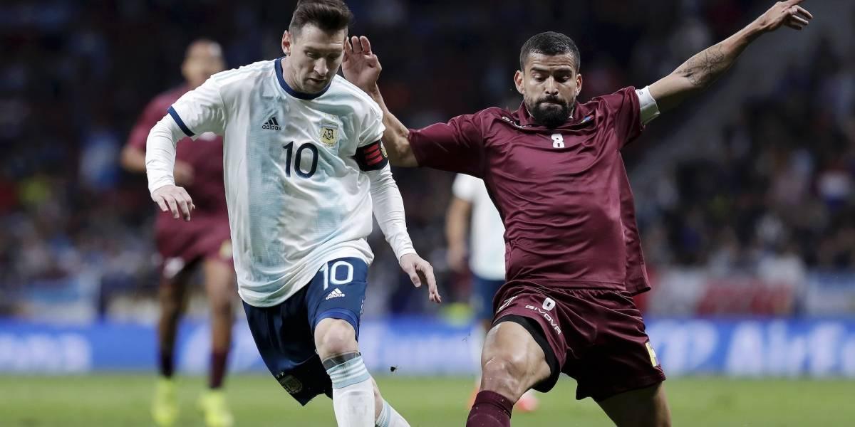 VIDEO: Los goles de la humillante derrota de Argentina con Messi ante Venezuela