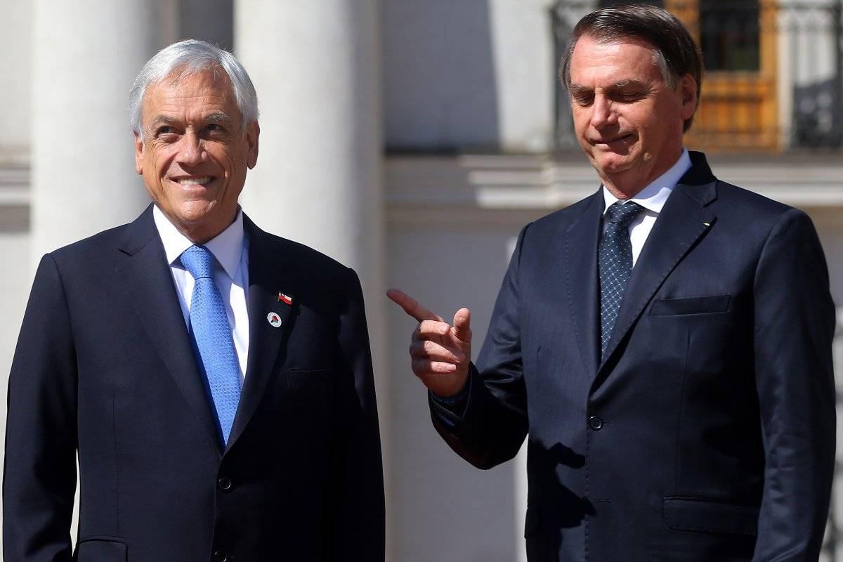 Sebastián Piñera y Jair Bolsonaro