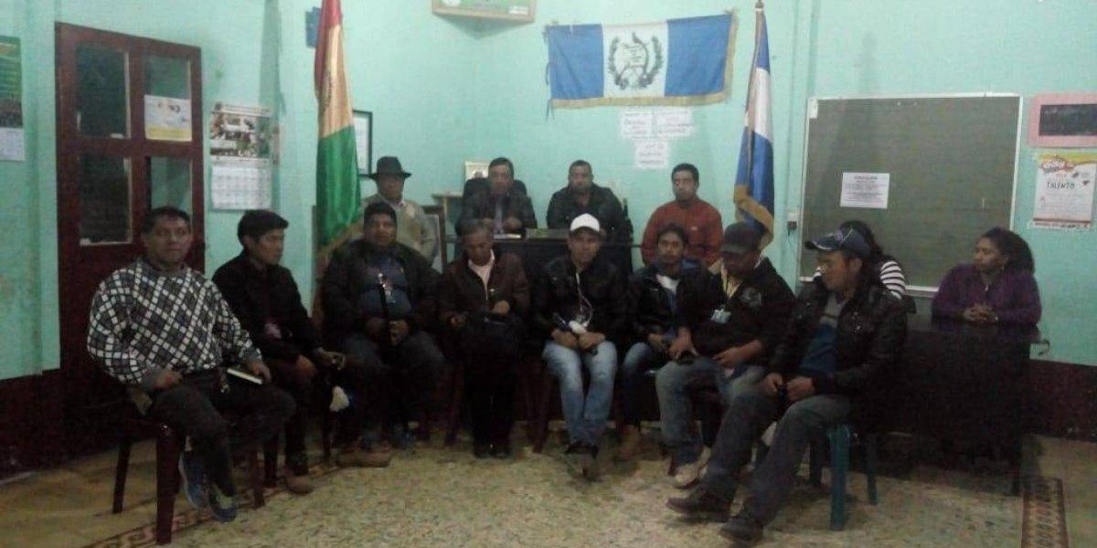 Alcaldes comunitarios anuncian bloqueo en ruta Cito Zarco