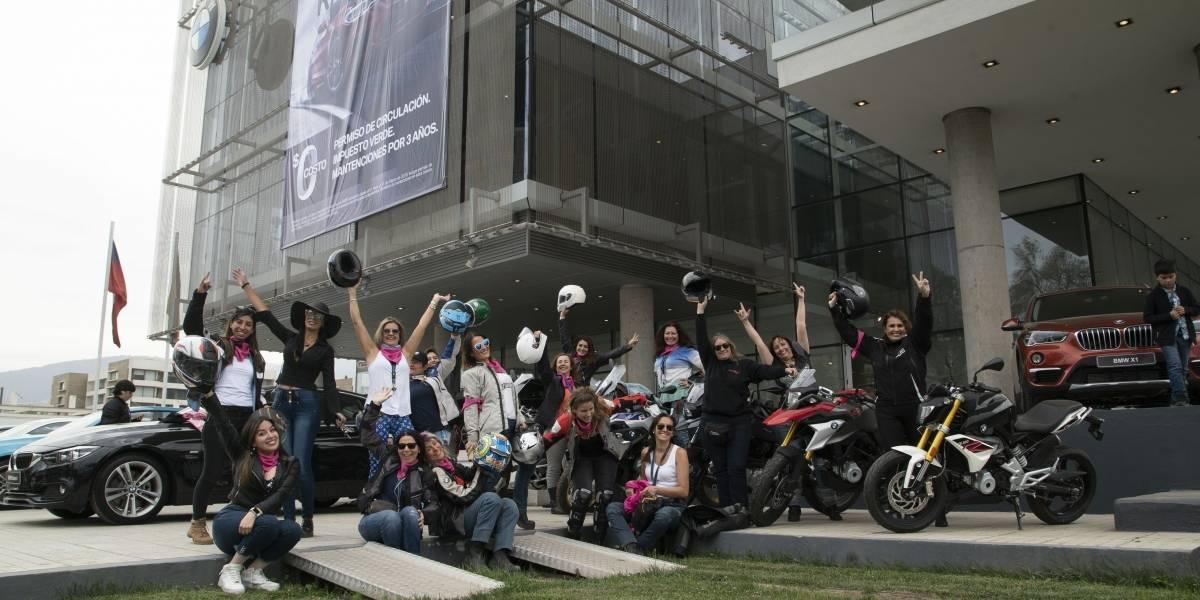 Corporación YoMujer y BMW Motorrad honran a las mujeres en su mes