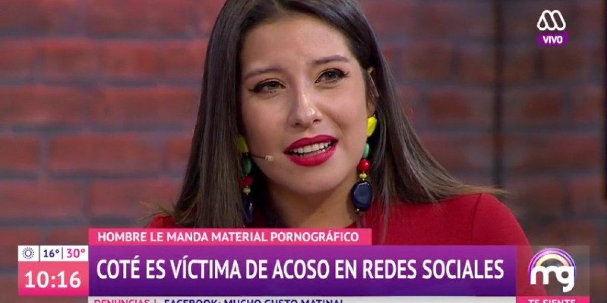 """María José Quintanilla confesó haber sido víctima de acoso por redes sociales: """"Me sentí súper violentada"""""""