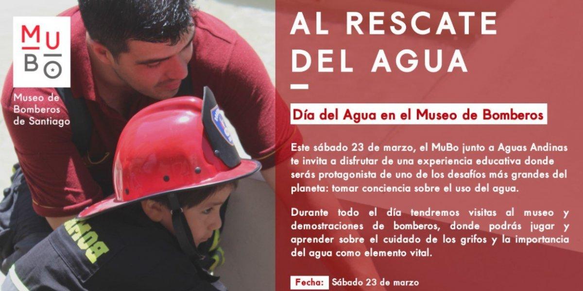 Al rescate del vital líquido: Museo de Bomberos De Santiago promoverá cuidado del agua y los grifos de emergencia
