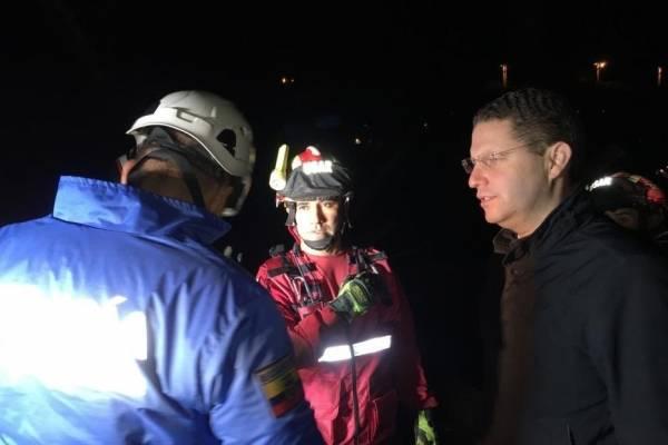 Alcalde de Quito, Mauricio Rodas, detalló sobre afectaciones por el deslave en el Pinar Alto, calle Manuel Valdiviezo