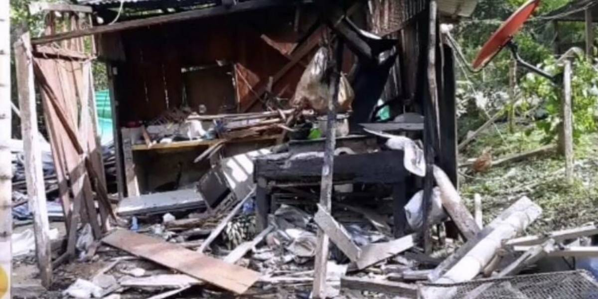 9 personas murieron por explosión en Colombia