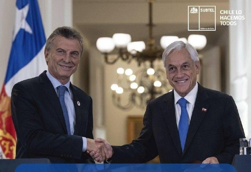 Acuerdo de complementación económica entre Chile y Argentina pondrá fin al roaming