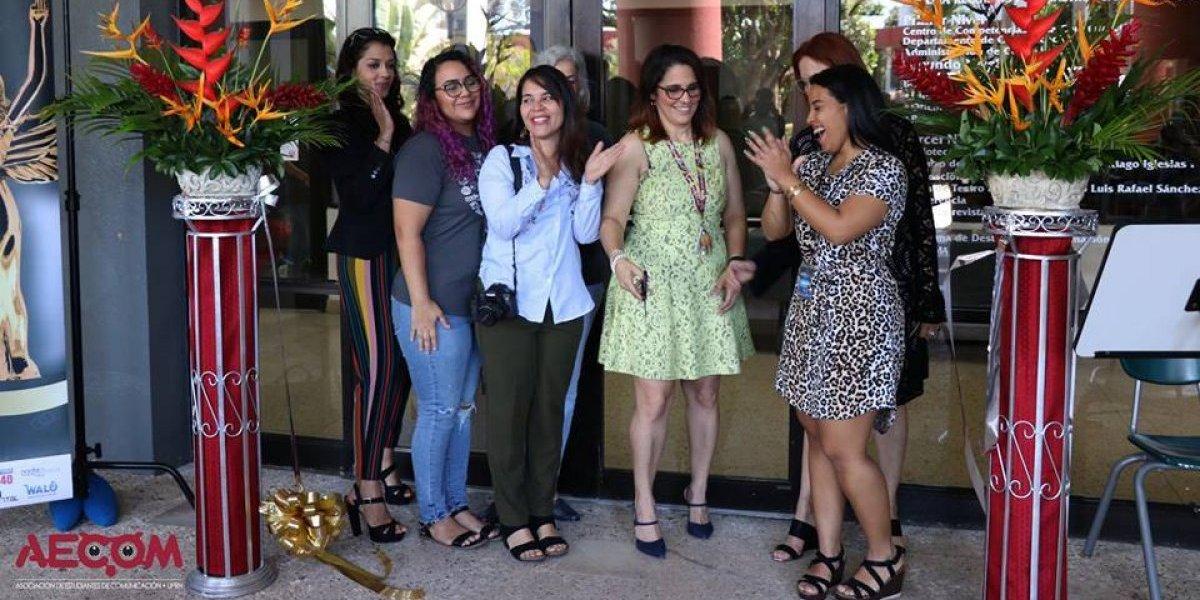 Profesores y estudiantes de UPR Humacao reconocen rol de la mujer en los medios