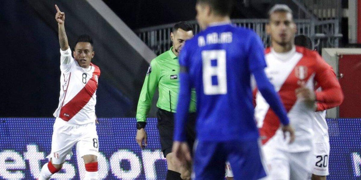 Perú frustró el debut de Berizzo en Paraguay con sólido triunfo en Estados Unidos