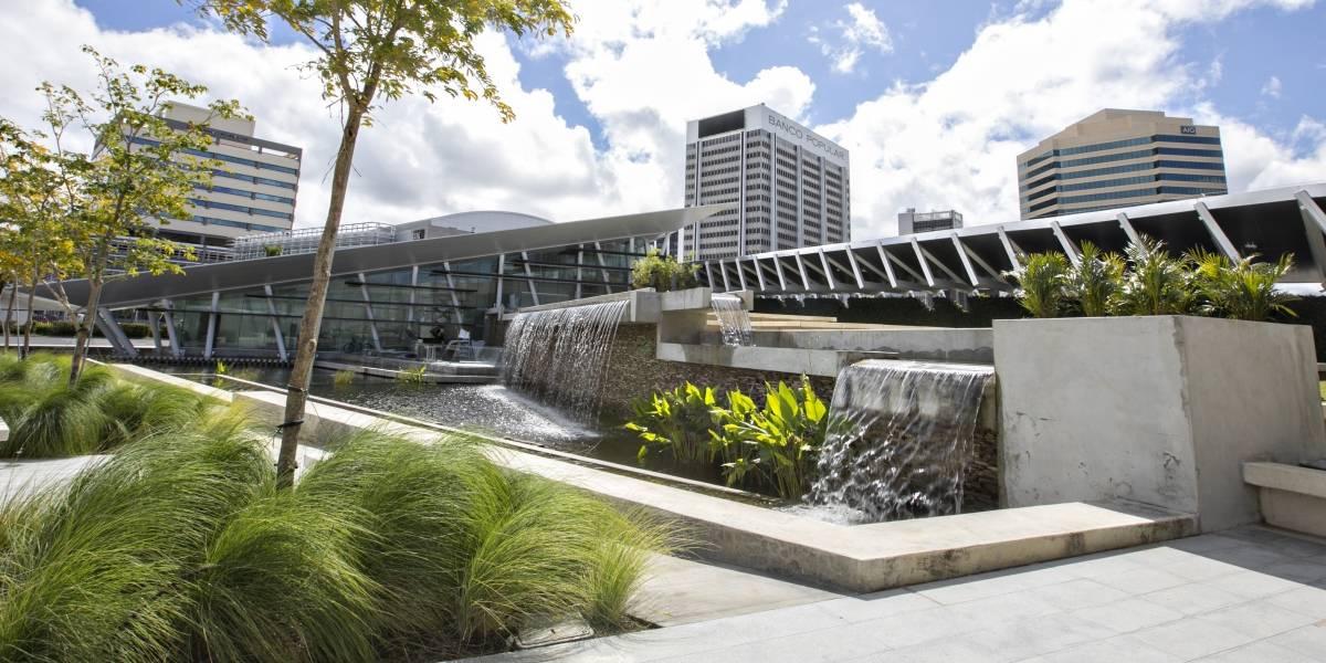 Recorrido sobre arquitectura paisajista en el Popular Center