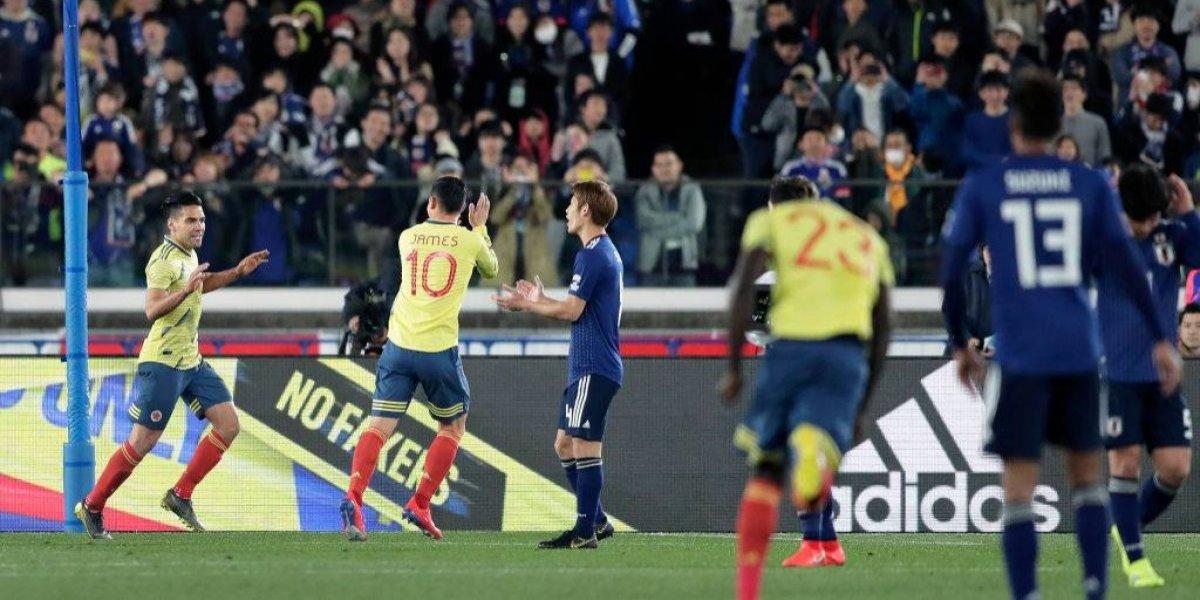 Colombia venció en amistoso internacional a Japón, rival de Chile en la Copa América 2019