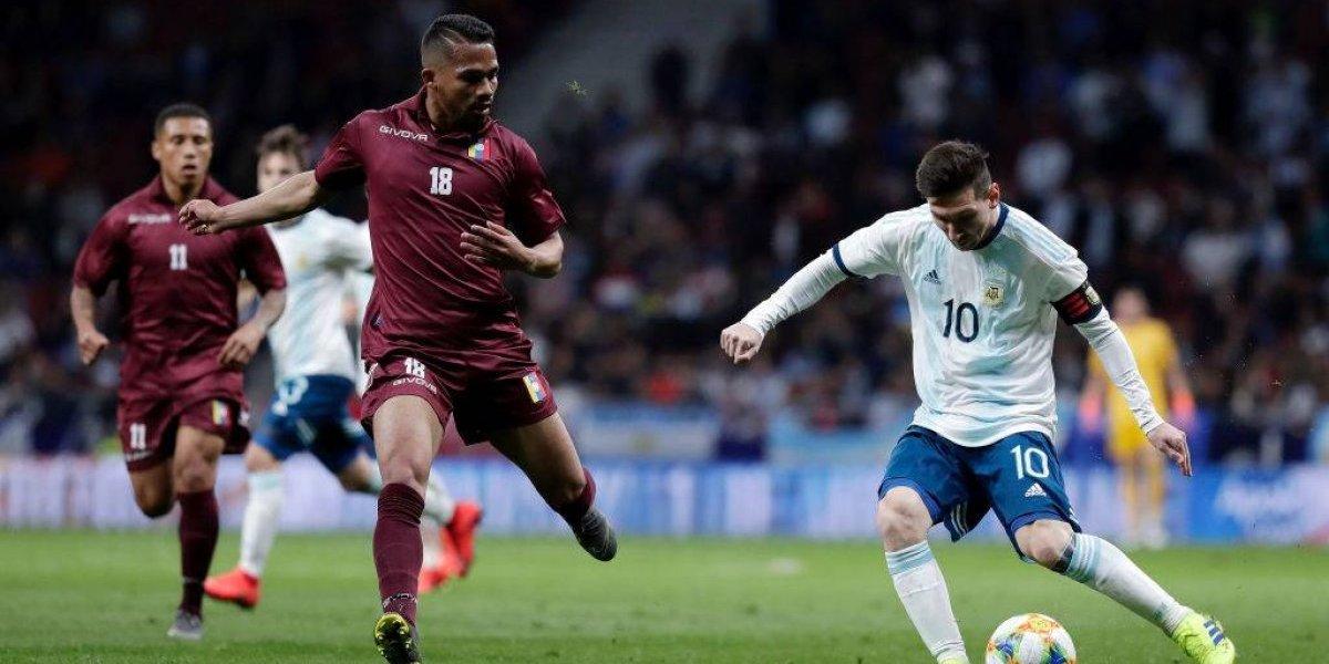 Así vivimos el triunfazo de Venezuela sobre Argentina en amistoso jugado en Madrid