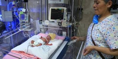 Nacimiento quintillizos IMSS
