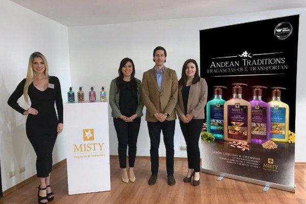 Jabonería Wilson presenta su nueva colección de jabones líquidos de lujo 'MISTY® ANDEAN TRADITIONS'
