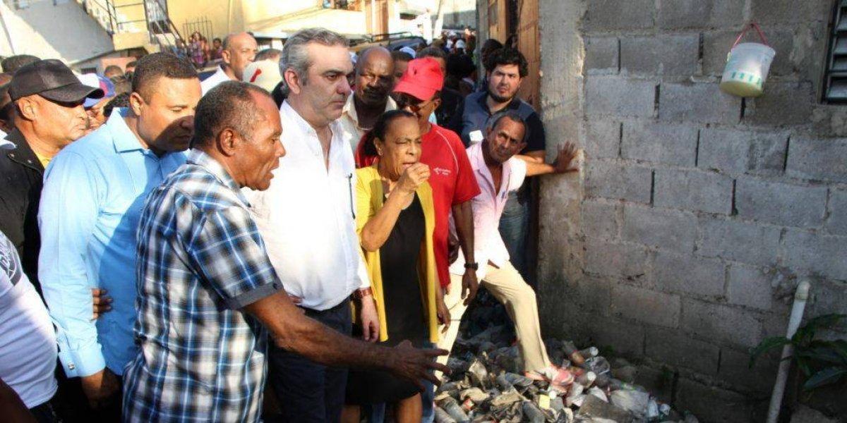 Luis Abinader afirma cañadas son como un dedo acusador que se levanta contra las autoridades