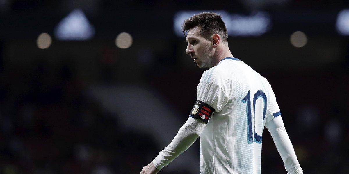 Messi causará baja de la Selección Argentina tras derrota ante Venezuela