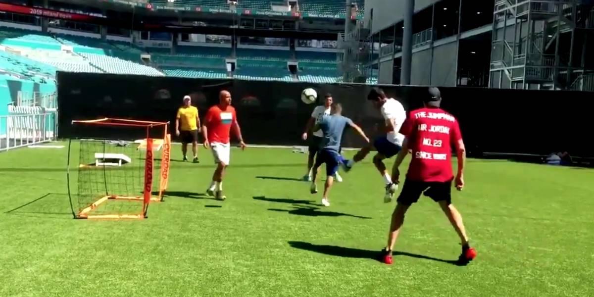 VIDEO: Novak Djokovic 'imita' a Cristiano Ronaldo en Miami