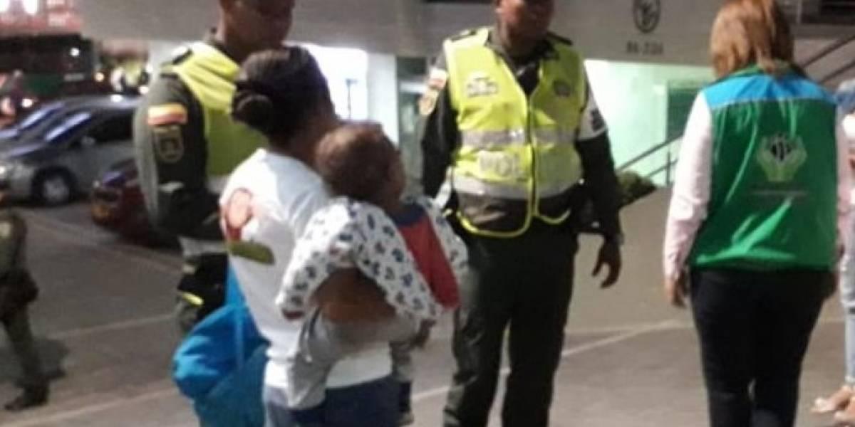 La Policía ha recogido a 38 menores usados para la mendicidad en Barranquilla