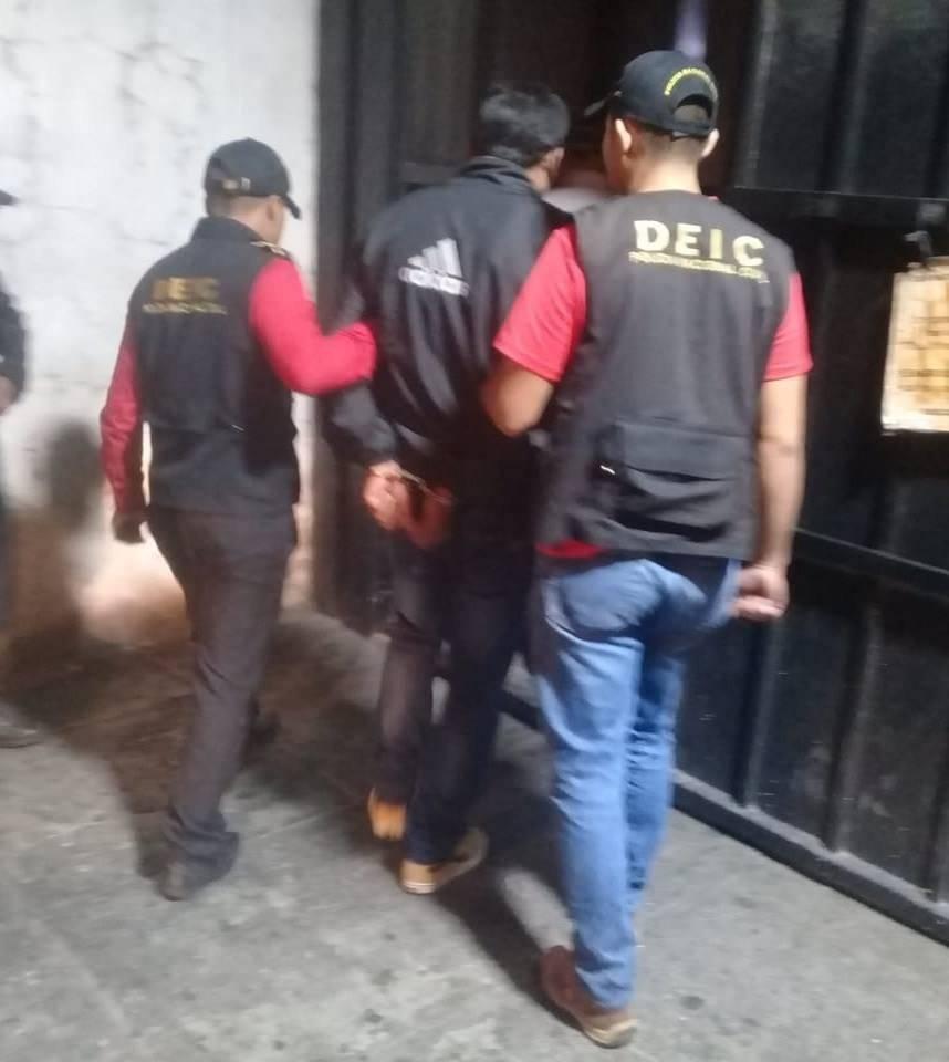 capturan a pandillero El Milo en zona 7