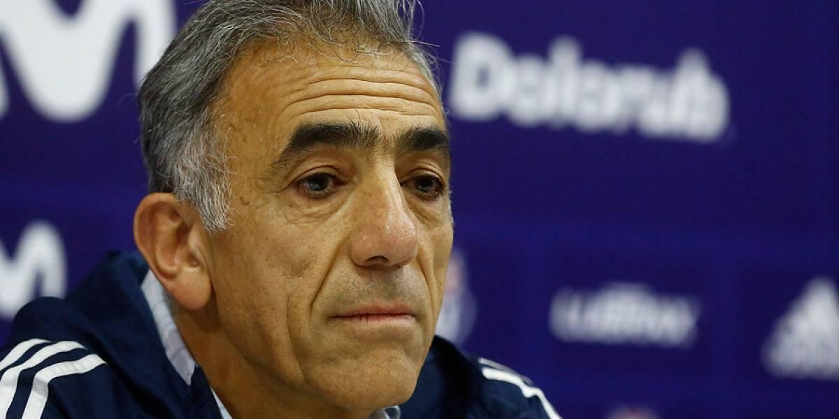 """Sabino Aguad desmiente a Johnny Herrera y admite que fue """"un error"""" la llegada de Arias"""