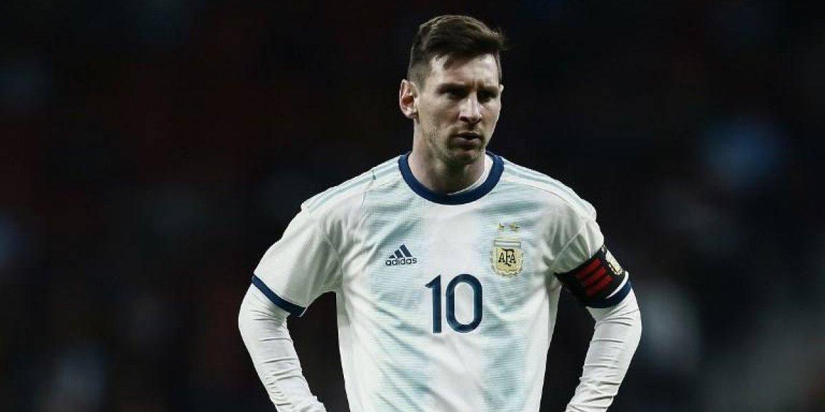 Otro descalabro de la Argentina de Lio Messi
