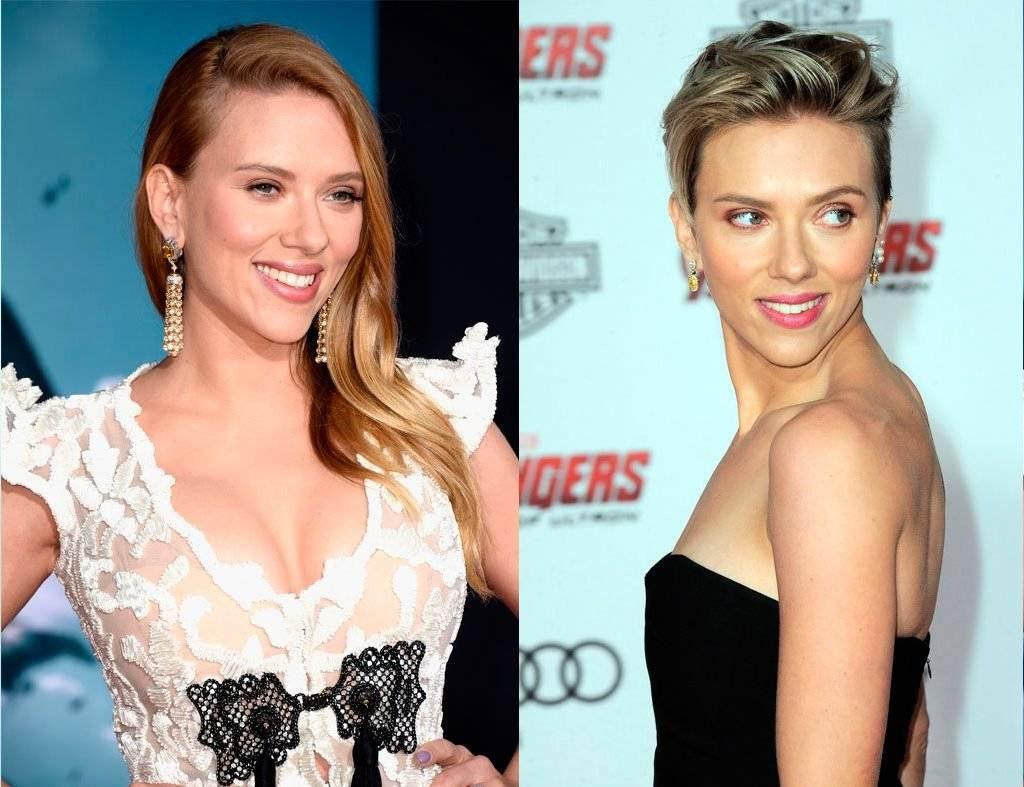 Scarlett Johansson antes y después