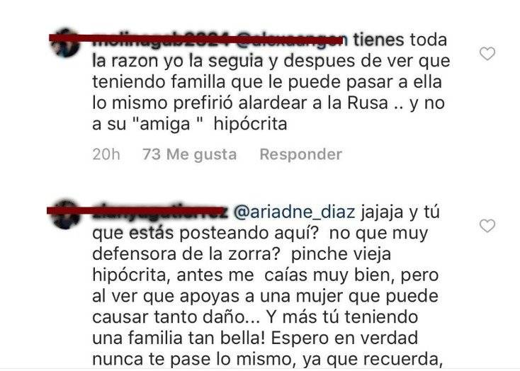 Instagram Geraldine Bazán