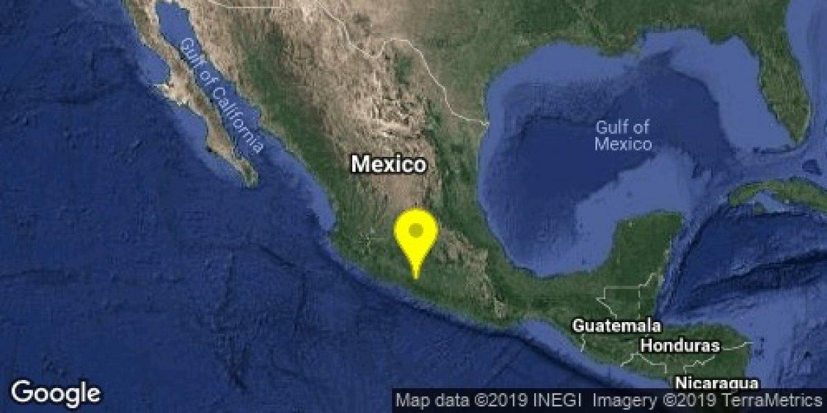 Se registra sismo de 5.0 en Guerrero