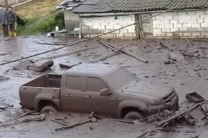 Deslave en el Pinar Alto