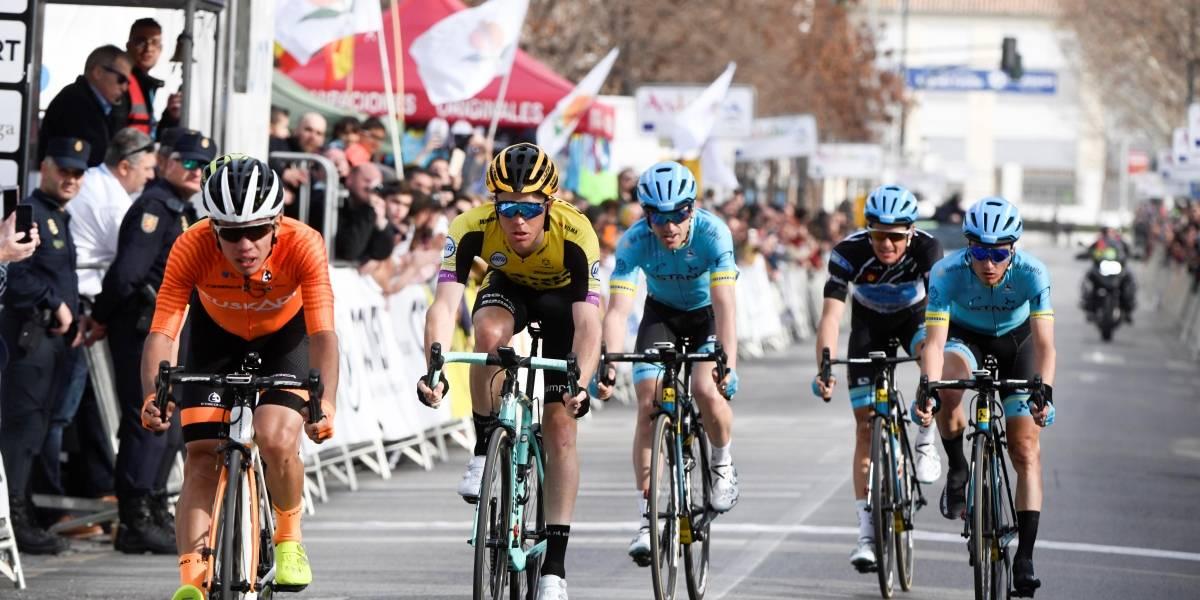 Higuita logró su primera victoria de etapa en Europa