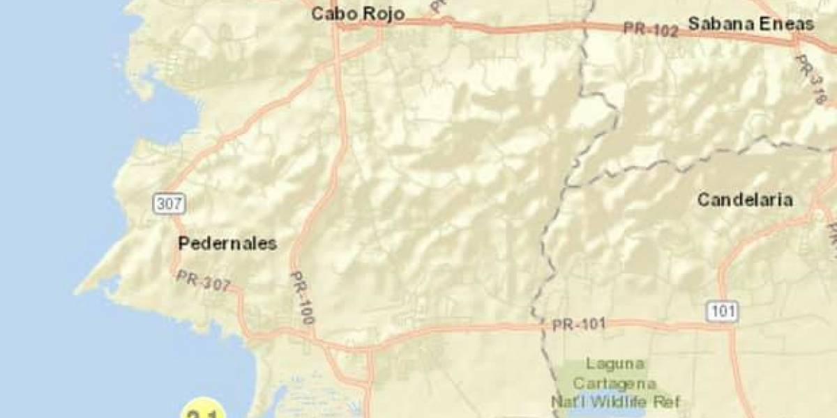 Se registra leve temblor en el área de Cabo Rojo