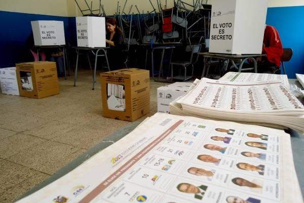 Elecciones 2019: Así se viven las votaciones en Quito, Guayaquil y Cuenca