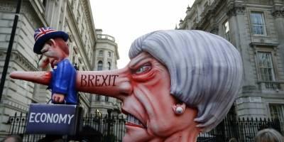 Manifestaciones en Londres por el Brexit