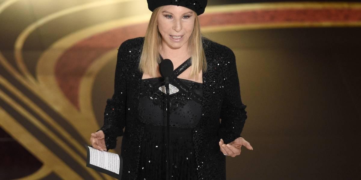 Barbara Streisand se solidariza con hombres que acusan a Jackson