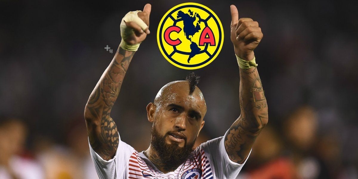 Arturo Vidal lanza nuevo 'guiño' al América