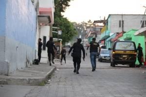 """Policías integraban la banda """"Los Patrones""""."""