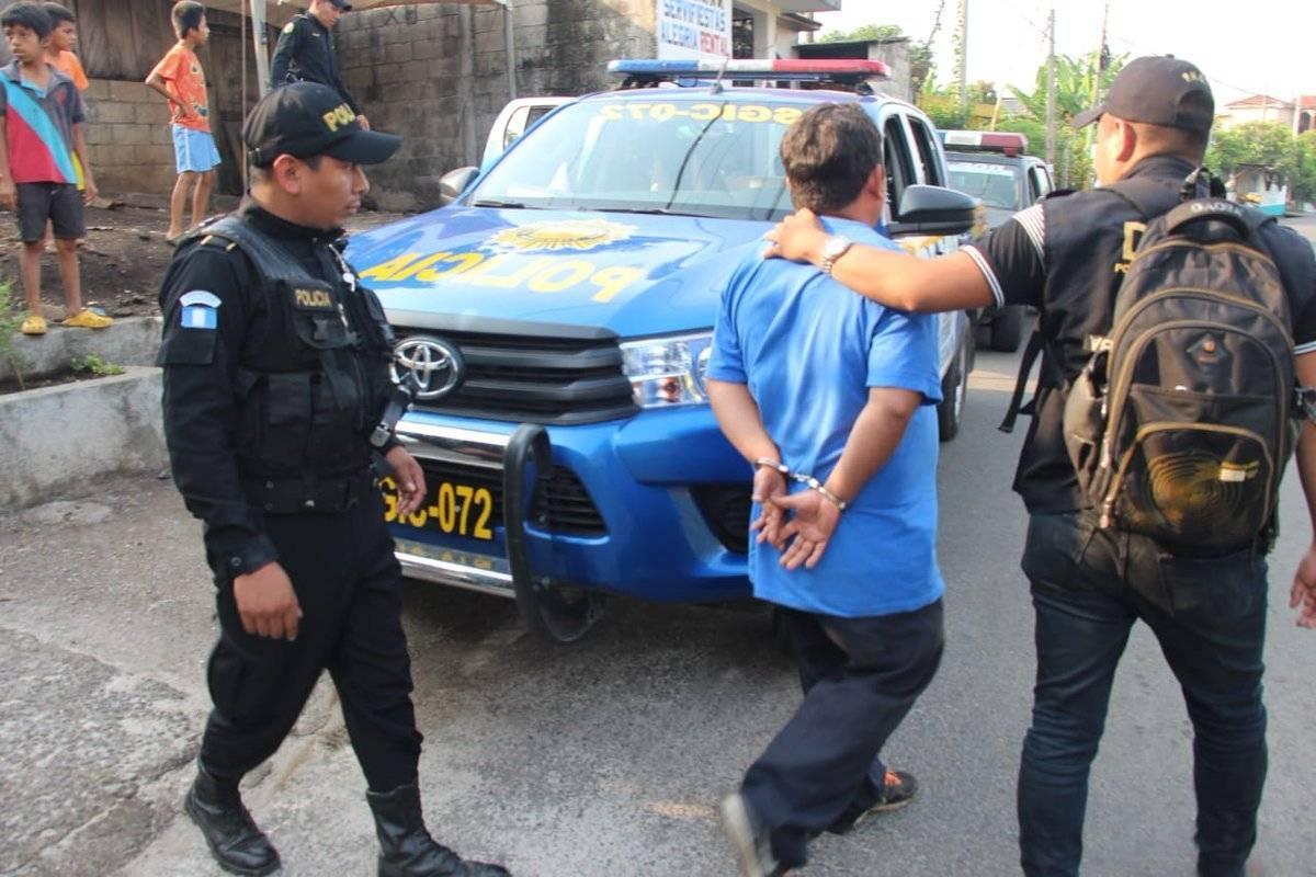 """Desarticulan a las bandas criminales """"Los Mashico"""" y """"Los Patrones"""". Foto: PNC"""