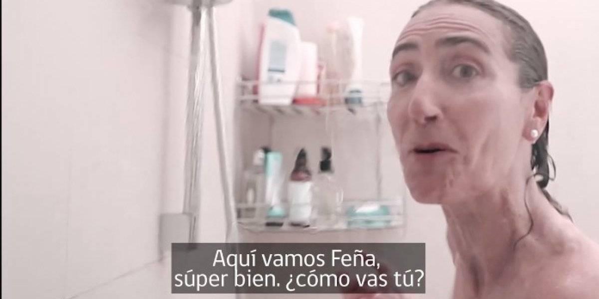 Todo por el agua: Ministra chilena de Medio Ambiente protagoniza video en la duchacon reconocido actor