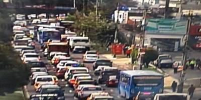 Cómo está el tráfico en la Mariscal Sucre