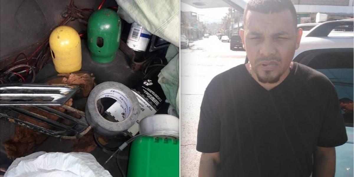 Capturan a hondureño sospechoso de explotar cajeros automáticos en Guatemala