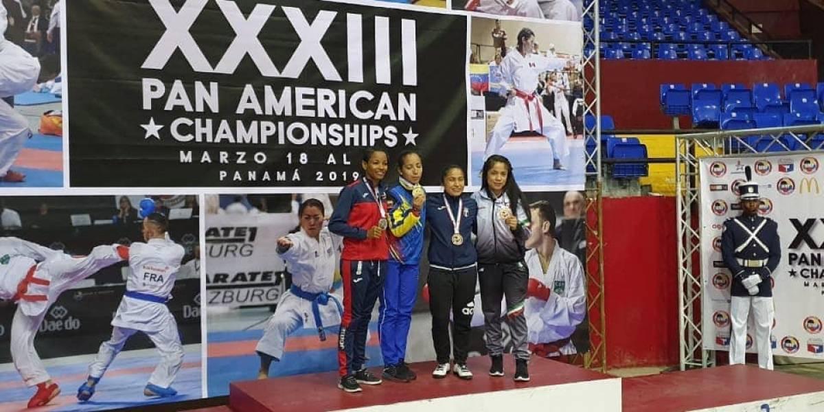 Cheili González se cuelga el bronce en el Campeonato Panamericano de Panamá