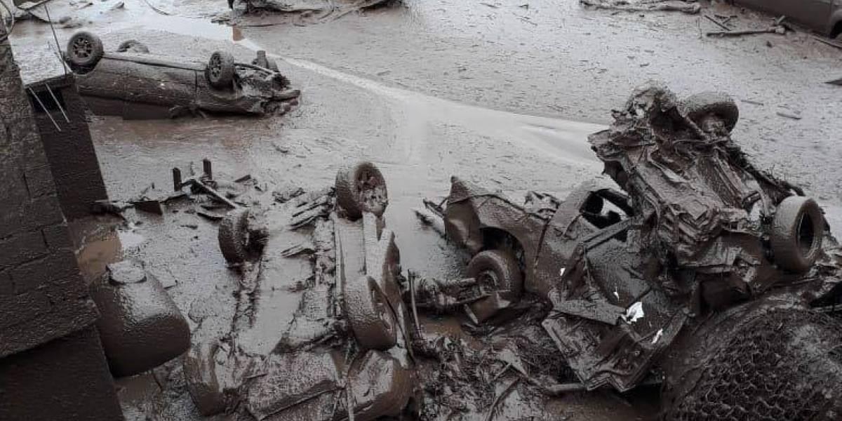 Confirman cuál fue la verdadera causa de aluvión en el Pinar, en el norte de Quito