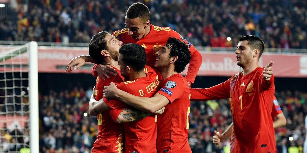¡Sacaron la Furia! España comienza camino a la Eurocopa 2020 con triunfo