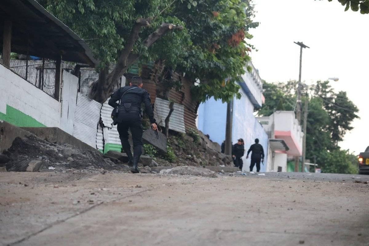 Red de extorsionistas operaba en San Marcos y Retalhuleu. Foto: PNC
